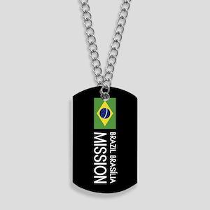 Brazil, Brasília Mission (Flag) Dog Tags