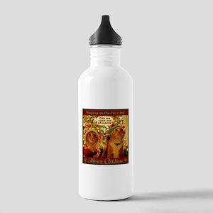 Meoowy Christmas Water Bottle