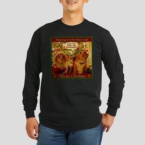 Meoowy Christmas Long Sleeve T-Shirt
