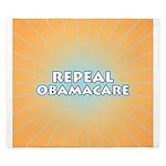Repeal Obamacare King Duvet