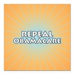 Repeal Obamacare Square Car Magnet 3