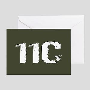 U.S. Army: 11C Mortarman (Military G Greeting Card