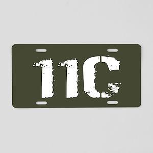 U.S. Army: 11C Mortarman (M Aluminum License Plate