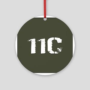 U.S. Army: 11C Mortarman (Military Round Ornament