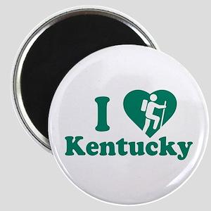 Love Hiking Kentucky Magnet