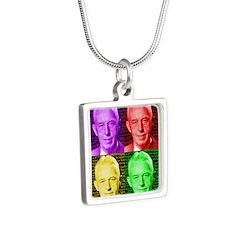 Warhol-esque Bill Necklaces