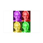 Warhol-esque Bill Wall Decal