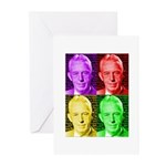 Warhol-esque Bill Greeting Cards