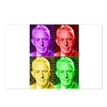 Warhol-esque Bill Postcards (Package of 8)
