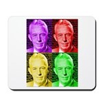 Warhol-esque Bill Mousepad
