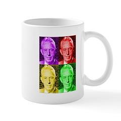 Warhol-esque Bill Mugs