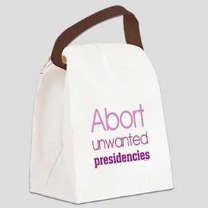 Abort unwanted presidencies Femin Canvas Lunch Bag