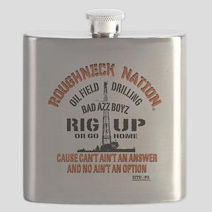 RIG UP BAD AZZ BOYZ Flask