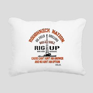 RIG UP BAD AZZ GIRLZ Rectangular Canvas Pillow