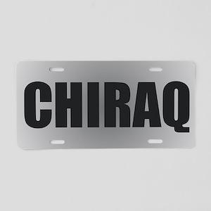 CHIRAQ Aluminum License Plate