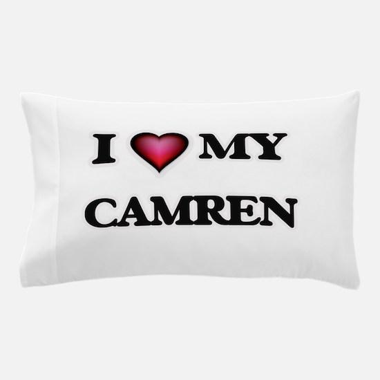 I love Camren Pillow Case