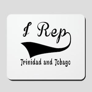 I Rep Trinidad and Tobago Mousepad