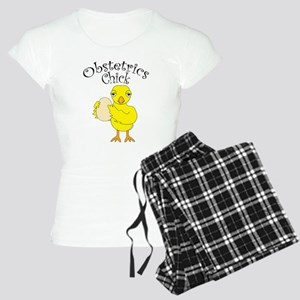Obstetrics Chick Text Pajamas