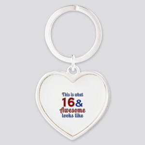16 Awesome Birthday Designs Heart Keychain