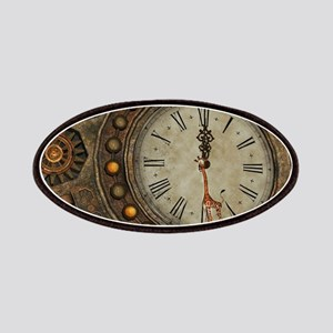 Steampunk, awesome clock Patch