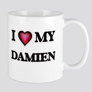I love Damien Mugs