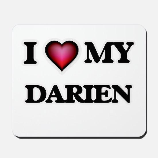 I love Darien Mousepad