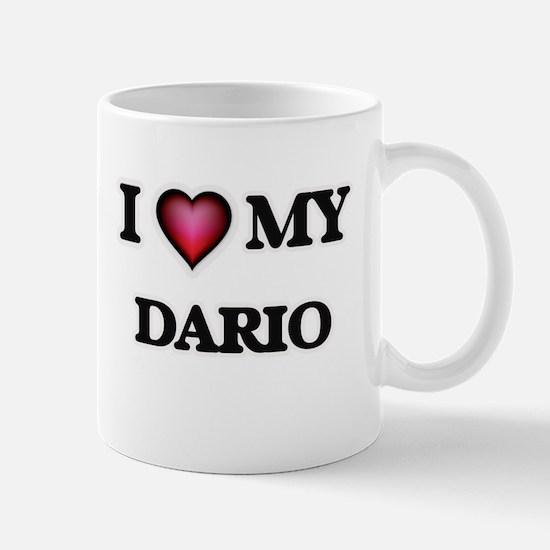 I love Dario Mugs