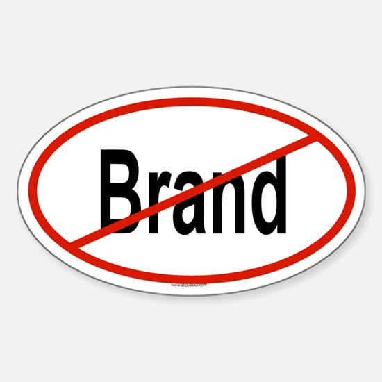 BRAND Oval Decal