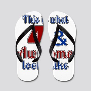 4 Awesome Birthday Designs Flip Flops
