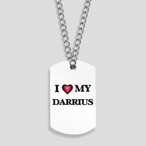 I love Darrius Dog Tags