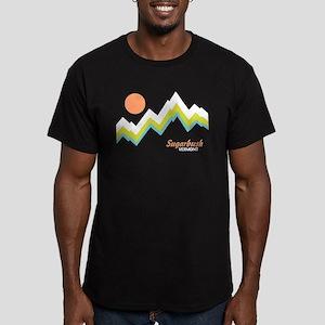 Sugarbush Vermont Men's Fitted T-Shirt (dark)