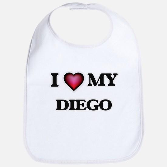 I love Diego Baby Bib
