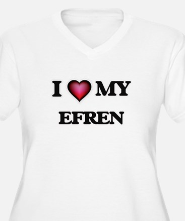 I love Efren Plus Size T-Shirt