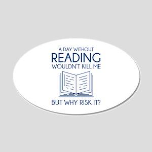 Reading 22x14 Oval Wall Peel