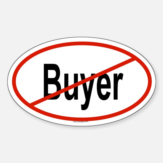 BUYER Oval Decal