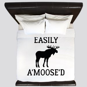 Easily Amoosed King Duvet
