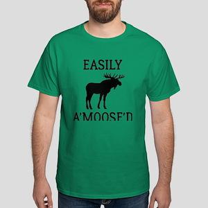 Easily Amoosed Dark T-Shirt