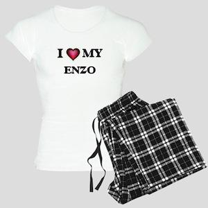 I love Enzo Pajamas