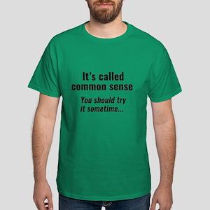 Common Sense Dark T-Shirt