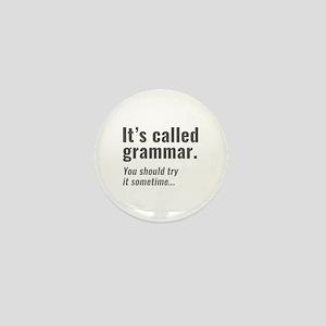 It's Called Grammar Mini Button
