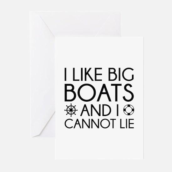 I Like Big Boats Greeting Cards (Pk of 10)