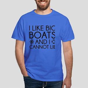 I Like Big Boats Dark T-Shirt