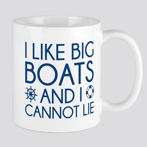 I Like Big Boats Mug
