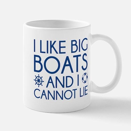 I Like Big Boats Mug