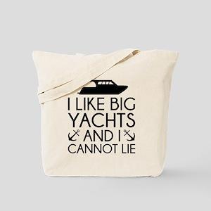 I Like Big Yachts Tote Bag