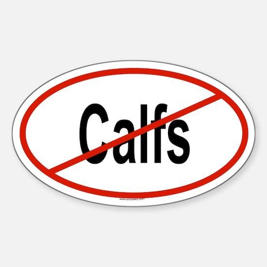 CALFS Oval Decal