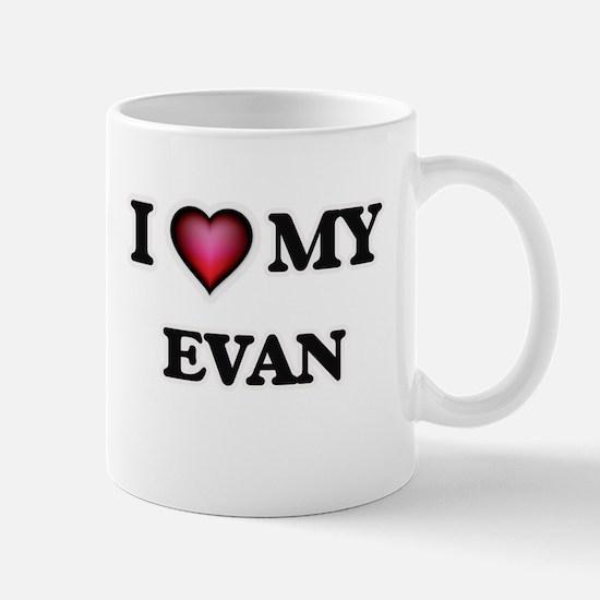 I love Evan Mugs