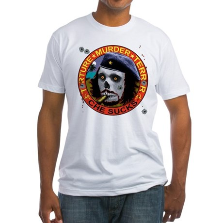 Che Sucks Fitted T-Shirt