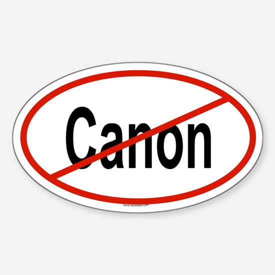 CANON Oval Decal
