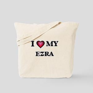 I love Ezra Tote Bag